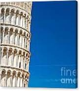 Pisa Leaning Tower Canvas Print