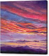 Pisgah Sunset Canvas Print