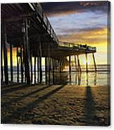 Pismo Beach Pier IIi Canvas Print