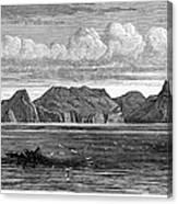 Pitcairn Island, 1879 Canvas Print