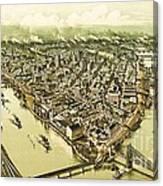 Pittsburg Pennsylvania Canvas Print
