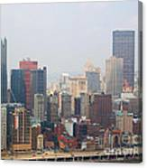 Pittsburgh Skyline Canvas Print