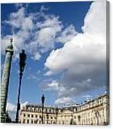 Place Vendome. Paris. France. Canvas Print