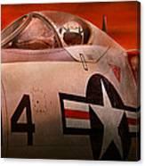 Plane - Pilot - Airforce - Go Get Em Tiger  Canvas Print