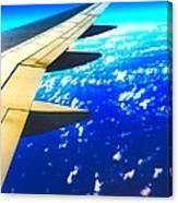 Plane Time Canvas Print