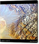 Planet Art Eight Poster Canvas Print