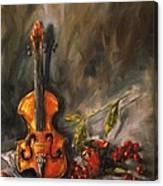 Play Me A Love Song Canvas Print
