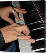 Play Me A Song Piano Man Canvas Print