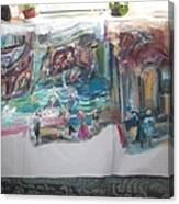 Play Time For Tudors Canvas Print