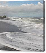 Playa Hermosa Morning Canvas Print