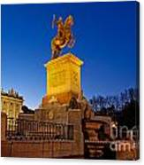 Plaza De Oriente Canvas Print