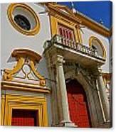 Plaza De Toros De La Maestranza - Seville  Canvas Print