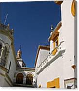 Plaza De Toros De La Real Maestranza - Seville Canvas Print