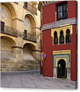 Plaza Del Triunfo In Cordoba Canvas Print