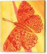 Pleasure Butterfly Canvas Print