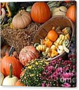 Plentiful Harvest Canvas Print