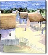 Plimoth Plantation Canvas Print