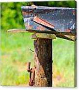 Po Monkey's Po Mailbox Canvas Print