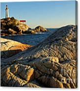 Point Atchison Lighthouse 1 Canvas Print