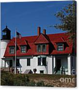 Point Betsie Light Station Canvas Print