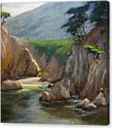 Point Lobos Hidden Cove Canvas Print