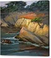 Point Lobos Last Light Canvas Print