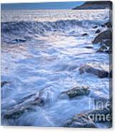 Point Shirley Surf Canvas Print