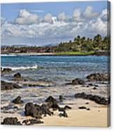 Poipu Shores Canvas Print