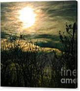 Polarized Sunset Canvas Print