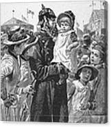 Policeman, 1885 Canvas Print