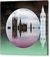 Political Bubble Canvas Print