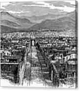 Pompeii: Ruins, C1880 Canvas Print