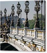 Pont Alexander IIi Canvas Print