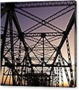 Pont Champlain - Montreal Canvas Print