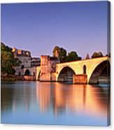 Pont St. Benezet Canvas Print