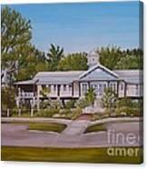 Pontchartrain Yacht Club Canvas Print