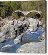 Ponte Dei Salti - Lavertezzo Canvas Print