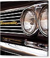 Pontiac Bonneville Canvas Print
