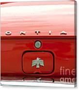 Pontiac Firebird Emblem Canvas Print