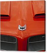 Pontiac Firebird Grille Canvas Print