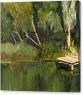Pontoon Pond Canvas Print