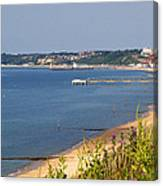 Poole Bay - June 2010 Canvas Print