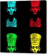 Pop Nefertiti Canvas Print