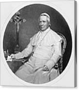 Pope Pius Ix (1792-1878) Canvas Print