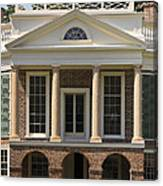 Poplar Forest South Portico Canvas Print