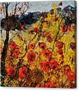 Poppies In Provence 456321 Canvas Print