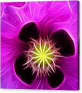 Poppy In Pink Canvas Print