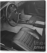 Porsche Interior Canvas Print