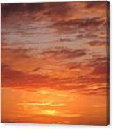 Port Henderson Sunset 2 Canvas Print