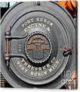 Port Huron Engine And Thresher Company . Steam Train Locomotive Engine 8613 . 7d12906 Canvas Print